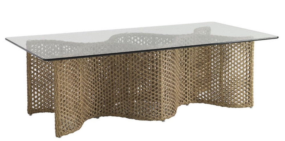 Coastal Style Aviano Rectangular Wicker Table #CoffeeTable #Coastal #RattanCoffeeTables #BeachHome #CoastalDecor #CoastalFurniture #Seaside