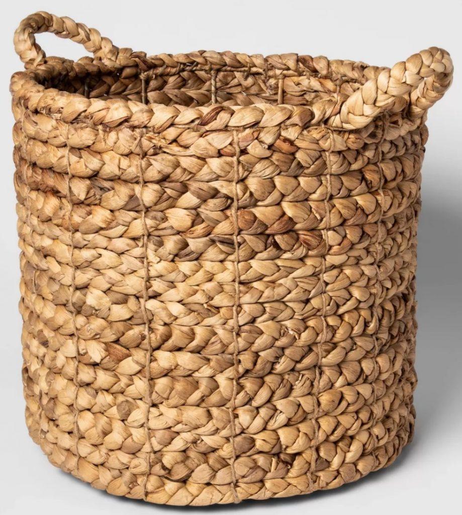Tote Baskets Decorative Basket Natural Threshold #Storage #Baskets #BasketStorage #ToteBaskets #HomeStorage #Organization #ATidyHome