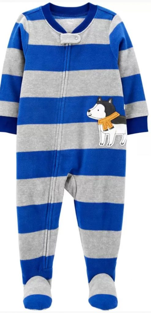 For the Little Ones Dog Fleece Footie PJs #Christmas #ChristmasGifts #GiftIdeas #ChristmasPresents #ChristmasGiftGiving