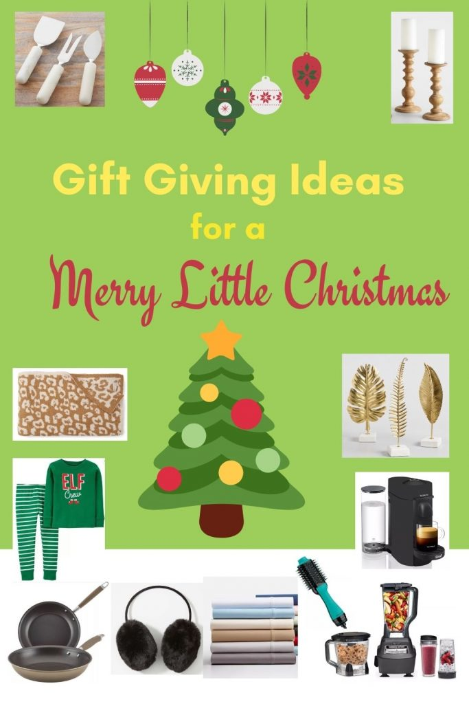 Gift Giving Ideas for a Merry Little Christmas #Christmas #ChristmasGifts #GiftIdeas #ChristmasPresents #ChristmasGiftGiving