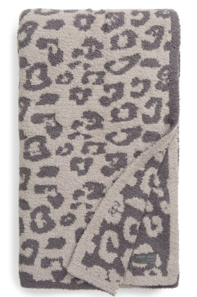 For Extra Coziness In the Wild Throw Blanket BAREFOOT DREAMS® Linen Graphite #Christmas #ChristmasGifts #GiftIdeas #ChristmasPresents #ChristmasGiftGiving