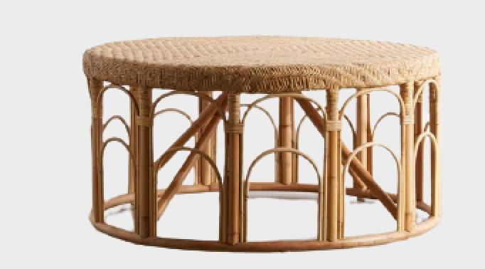 Rattan Coffee Tables Lulu Rattan Coffee Table #CoffeeTable #Coastal #RattanCoffeeTables #BeachHome #CoastalDecor #CoastalFurniture #Seaside