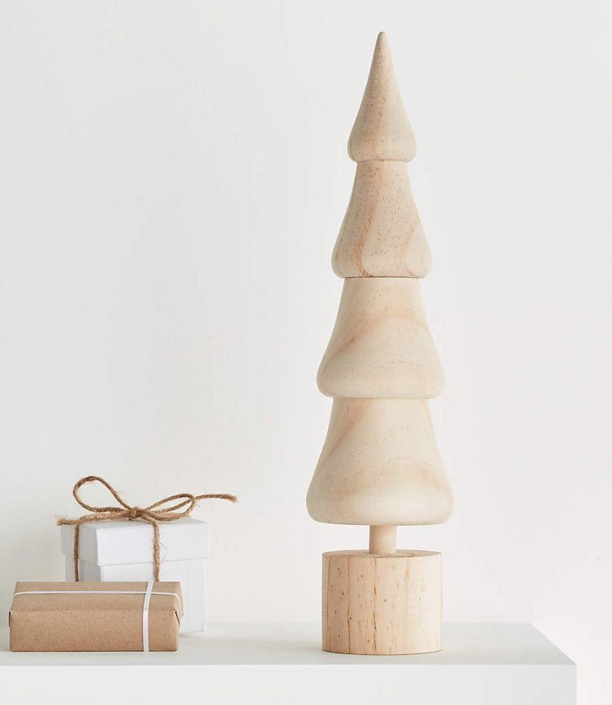Tis the Season Natural Wooden Tree #Christmas #ChristmasGifts #GiftIdeas #ChristmasPresents #ChristmasGiftGiving