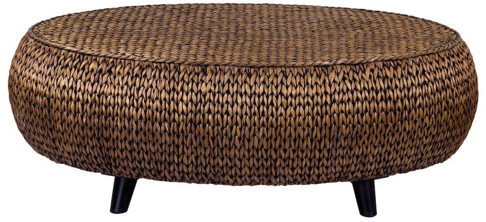 Coastal Style Nobles Oval Coffee Table #CoffeeTable #Coastal #RattanCoffeeTables #BeachHome #CoastalDecor #CoastalFurniture #Seaside