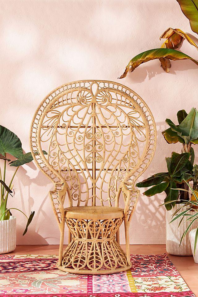 Plumage Rattan Chair #Coastal #CoffeeTables #RattanCoffeeTables #BeachHome #CoastalDecor