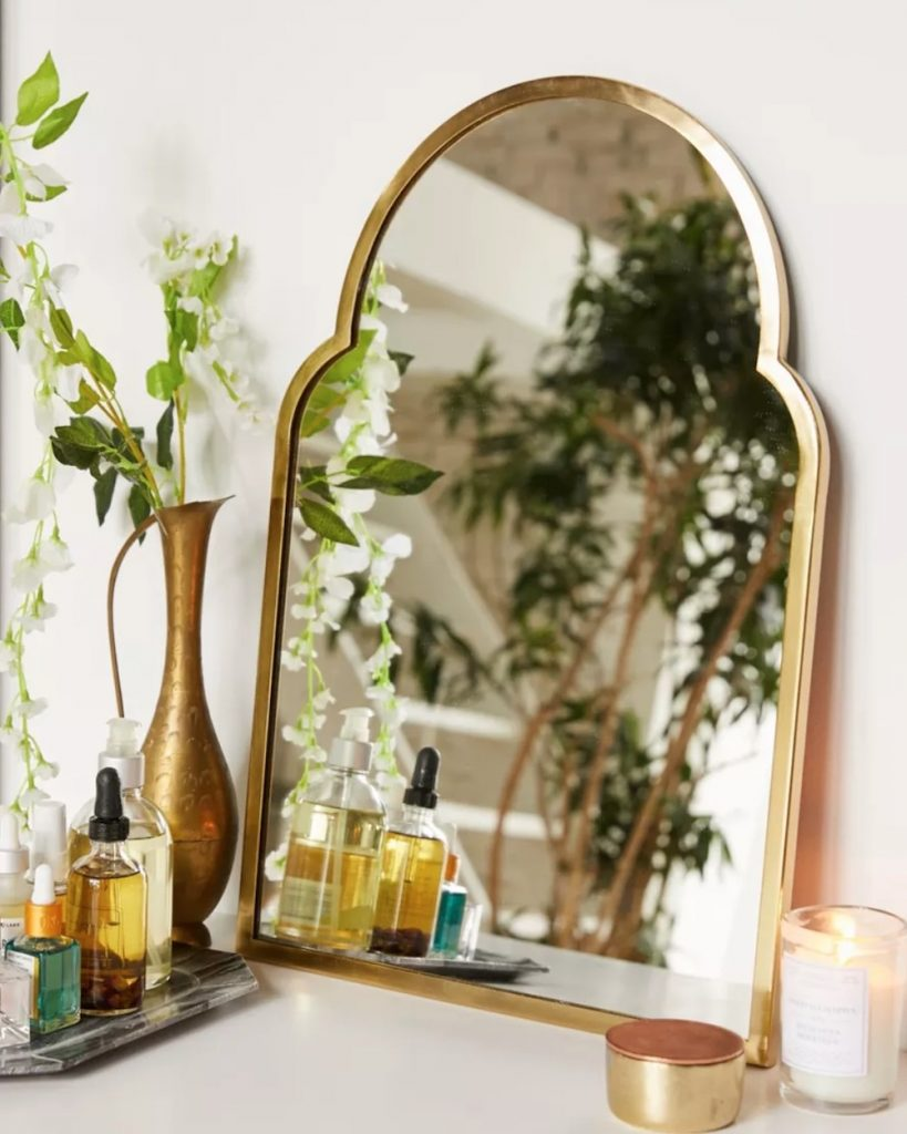 For the Vanity Varena Arched Wall Mirror #Christmas #ChristmasGifts #GiftIdeas #ChristmasPresents #ChristmasGiftGiving