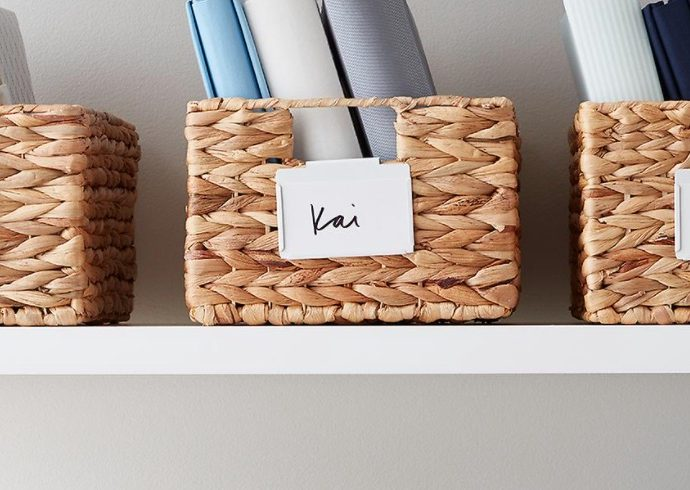 Basket Storage for the Home