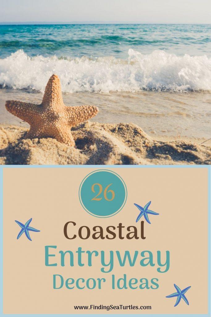 26 Coastal Entryway Decor Ideas #Coastal #CoastalDecor #Entryway #Foyer #CoastalEntryway #CoastalFoyer #BeachHouse #BeachHome #SummerHouse #LakeHouse #ConsoleTable #SeasideDecor #IslandDecor #TropicalIslandDecor