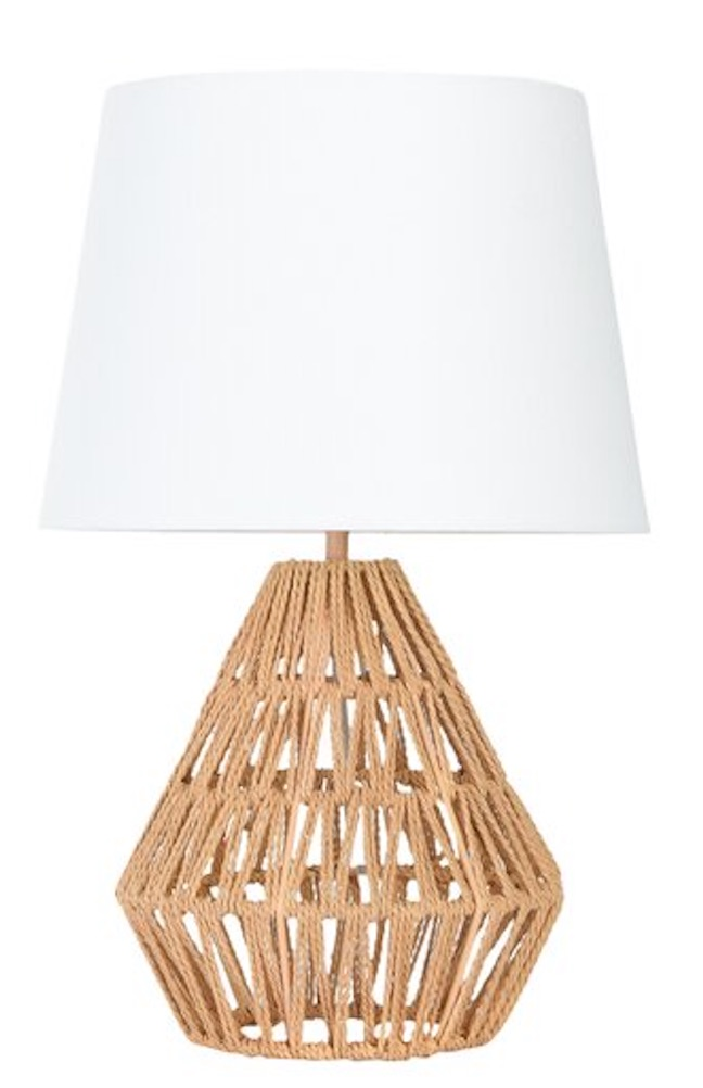 Seaside Style Bartlow Table Lamp #Lamps #TableLamps #BeachHome #CoastalDecor #SeasideDecor #IslandDecor #TropicalIslandDecor #BeachHomeDecor #LivingRoom #Bedroom