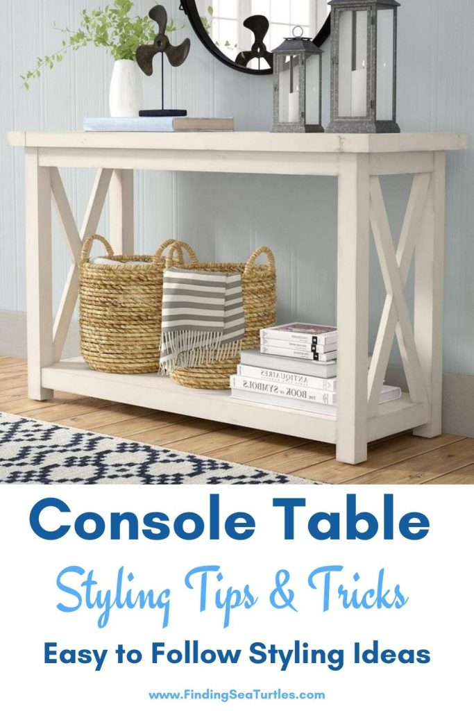 Console Table Styling Tips Tricks Easy to Follow #StyleAConsoleTable #Entryway #Foyer #ConsoleTable #HomeDecor #ConsoleTableDecor #HallwayTable #HomeDecorTips #StylingTips