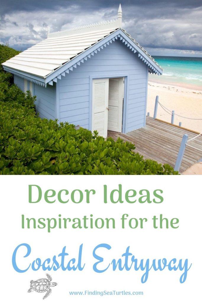 Decor Ideas Inspiration for the Coastal Entryway #Coastal #CoastalDecor #Entryway #Foyer #CoastalEntryway #CoastalFoyer #BeachHouse #BeachHome #SummerHouse #LakeHouse #ConsoleTable #SeasideDecor #IslandDecor #TropicalIslandDecor