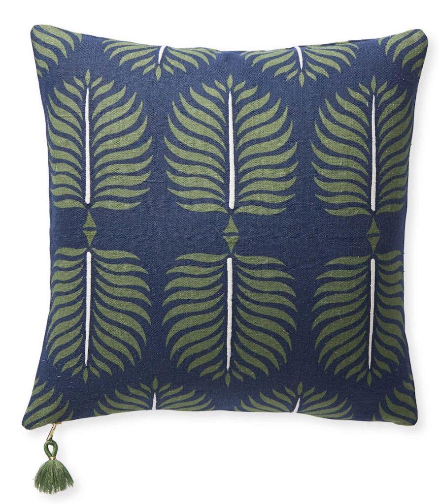 Seaview Decor Granada Pillow Cover #Pillows #ThrowPillows #BeachHome #CoastalDecor #SeasideDecor #IslandDecor #TropicalIslandDecor #BeachHomeDecor