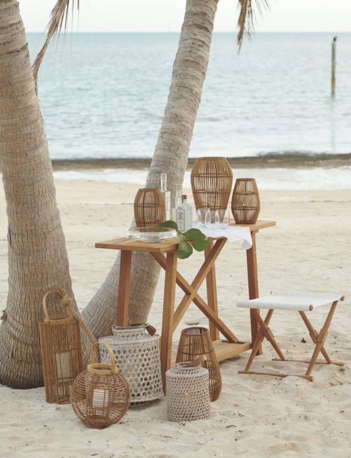 16 Rattan Lanterns for your Beach Home