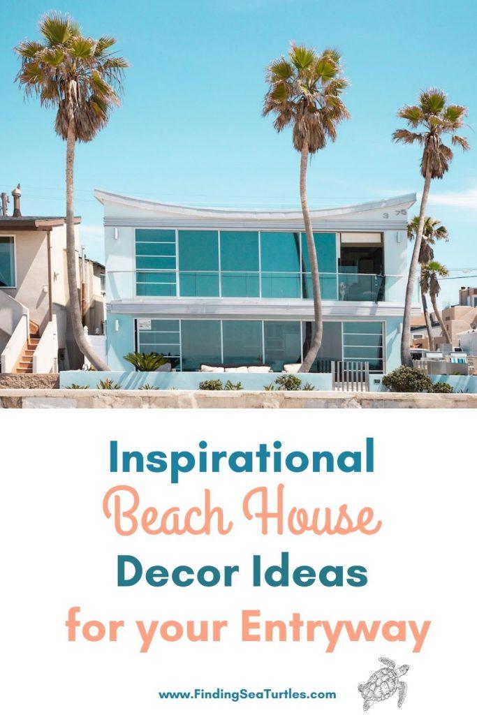 Inspirational Beach House Decor Ideas for your Entryway #Coastal #CoastalDecor #Entryway #Foyer #CoastalEntryway #CoastalFoyer #BeachHouse #BeachHome #SummerHouse #LakeHouse #ConsoleTable #SeasideDecor #IslandDecor #TropicalIslandDecor