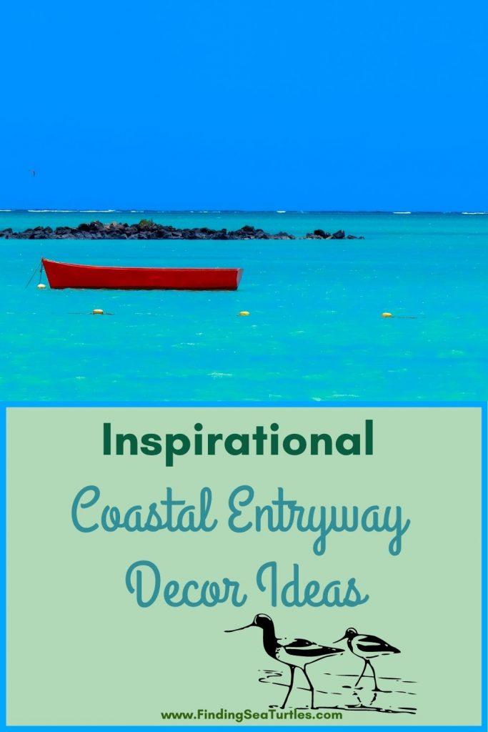 Inspirational Coastal Entryway Decor Ideas #Coastal #CoastalDecor #Entryway #Foyer #CoastalEntryway #CoastalFoyer #BeachHouse #BeachHome #SummerHouse #LakeHouse #ConsoleTable #SeasideDecor #IslandDecor #TropicalIslandDecor