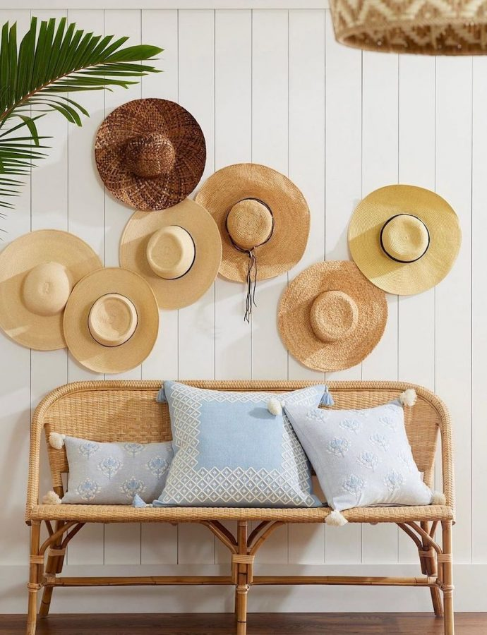 23 Coastal Rattan Benches for your Beach House