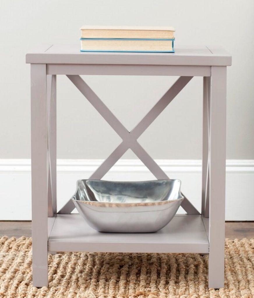 Beach House Decor Sadie End Table with Storage #EndTables #SideTables #CoastalEndTables #BeachHome #CoastalDecor #SeasideDecor #IslandDecor #TropicalIslandDecor #BeachHouse