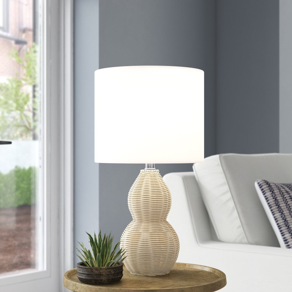 Summer Home Style Savell Light Natural Table Lamp #Lamps #TableLamps #BeachHome #CoastalDecor #SeasideDecor #IslandDecor #TropicalIslandDecor #BeachHomeDecor #LivingRoom #Bedroom