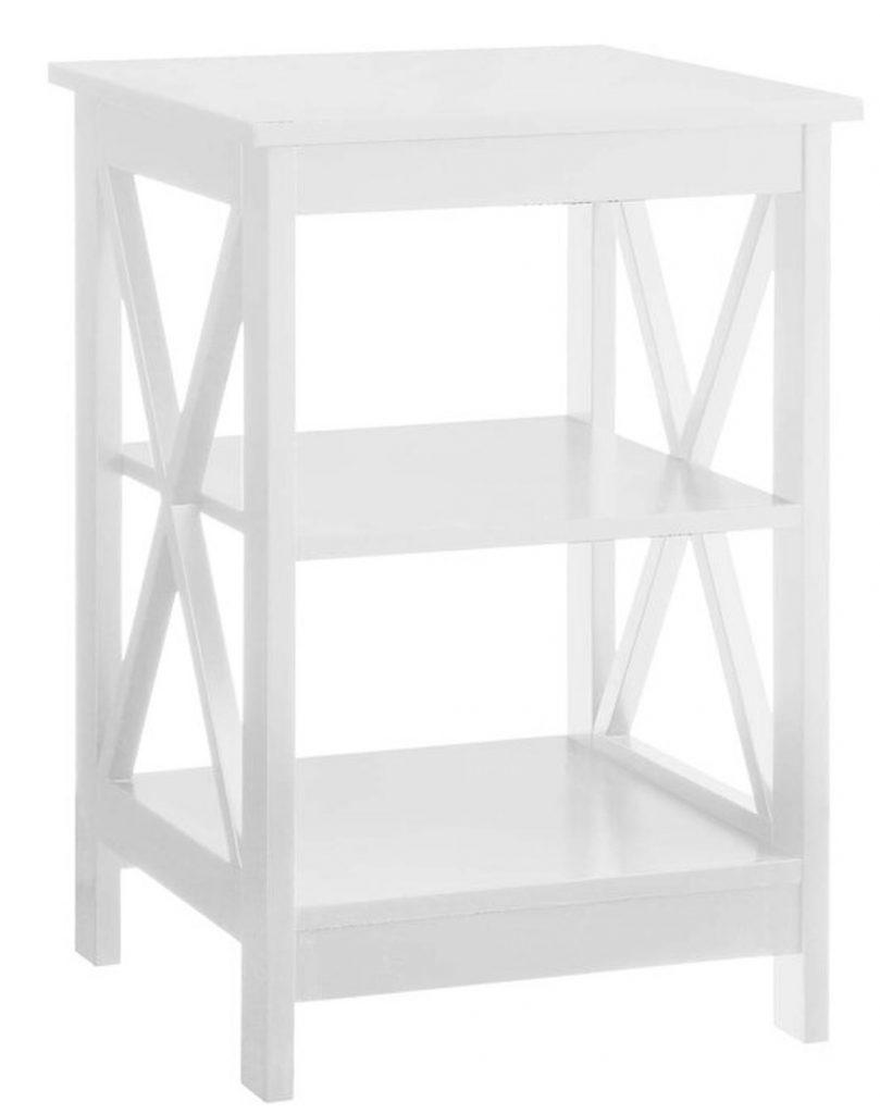 End Tables with Coastal Style Stoneford End Table #EndTables #SideTables #CoastalEndTables #BeachHome #CoastalDecor #SeasideDecor #IslandDecor #TropicalIslandDecor #BeachHouse
