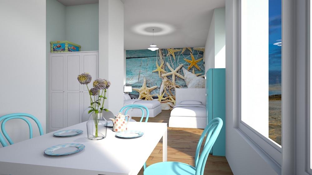 Display Oceanic Elements Beach House with White and Turquoise Decor #Coastal #CoastalDecorTips #BeachHouse #BeachHome #LakeHouse #CoastalDecor #SeasideDecor #IslandDecor #TropicalIslandDecor