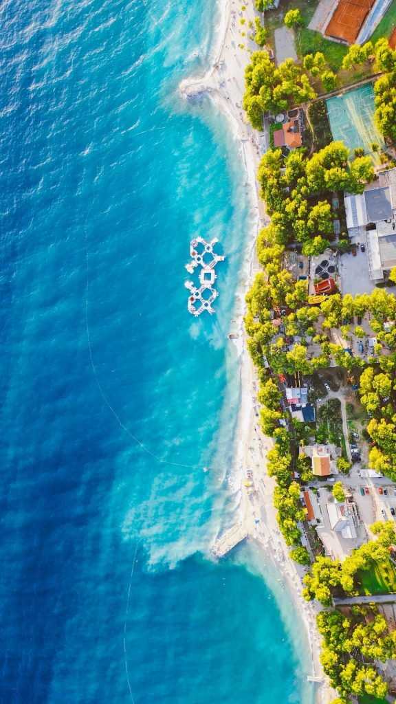 Beach House Colors Croatian Coastline #Coastal #CoastalDecorTips #BeachHouse #BeachHome #LakeHouse #CoastalDecor #SeasideDecor #IslandDecor #TropicalIslandDecor