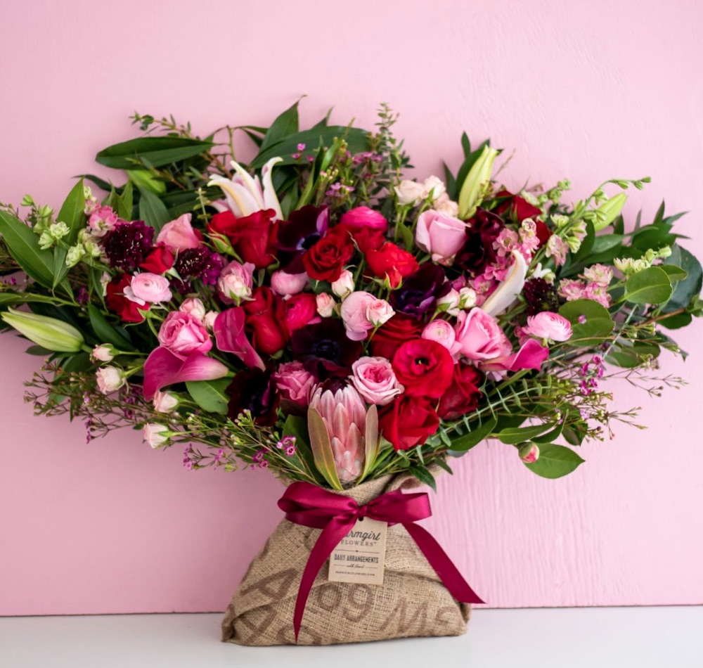 Best Valentine's Flowers and Plants Love Story by FarmGirl Flowers #flowers #FlowerDelivery #bouquets #OnlineFlowers #FlowersOnline #ValentinesDay #ValentinesFlowers #SendFlowers