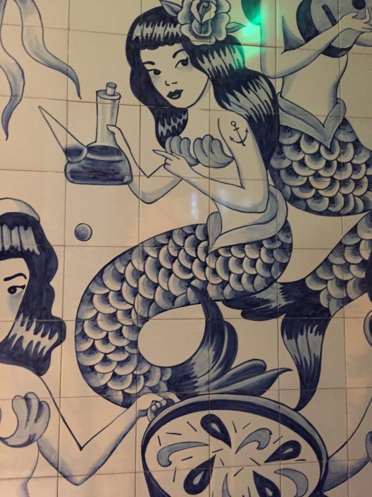 Ways to Add Coastal Decor to Your Home Mermaid Tiles #Coastal #CoastalDecorTips #BeachHouse #BeachHome #LakeHouse #CoastalDecor #SeasideDecor #IslandDecor #TropicalIslandDecor