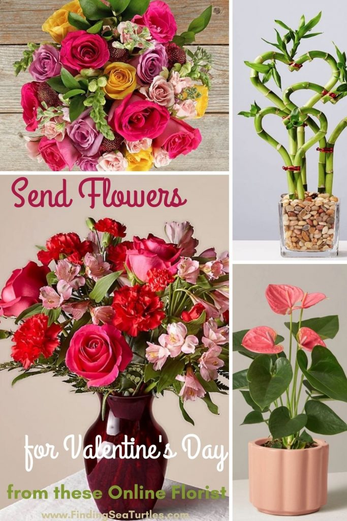 Send Flowers for Valentine's Day from these Online Florists #flowers #FlowerDelivery #bouquets #OnlineFlowers #FlowersOnline #ValentinesDay #ValentinesFlowers #SendFlowers