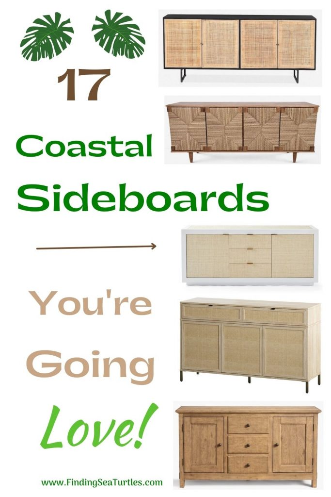 17 Coastal Sideboards You re Going to Love #Coastal #DiningRoom #Sideboard #Buffet #CoastalSideboard #CoastalDiningRoom #CoastalDiningSets #CoastalDecor #CoastalHomeDecor #BeachHouse #SeasideStyle #LakeHouse #SummerHouse #DiningRoomAccessories