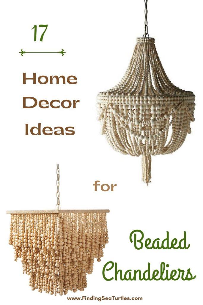17 Home Decor Ideas for Beaded Chandeliers #Coastal #Boho #Chandeliers #BeadedChandeliers #CoastalDecor #DiningRoom #Entryway #Foyer #DecorIdeas #Inspo #CoastalLiving #HomeDecorTipsAndTricks #HomeDecor