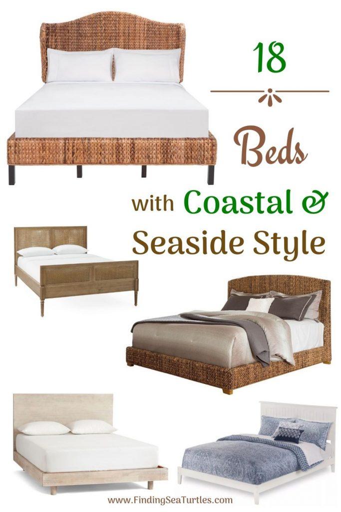 18 Beds with Coastal Seaside Style #Coastal #Beds #BedRoom #CoastalBeds #CoastalBedroom #CoastalDecor #CoastalHome #CoastalLiving #BeachHouse #SeasideStyle #LakeHouse #SummerHouse #CoastalBohoDecor