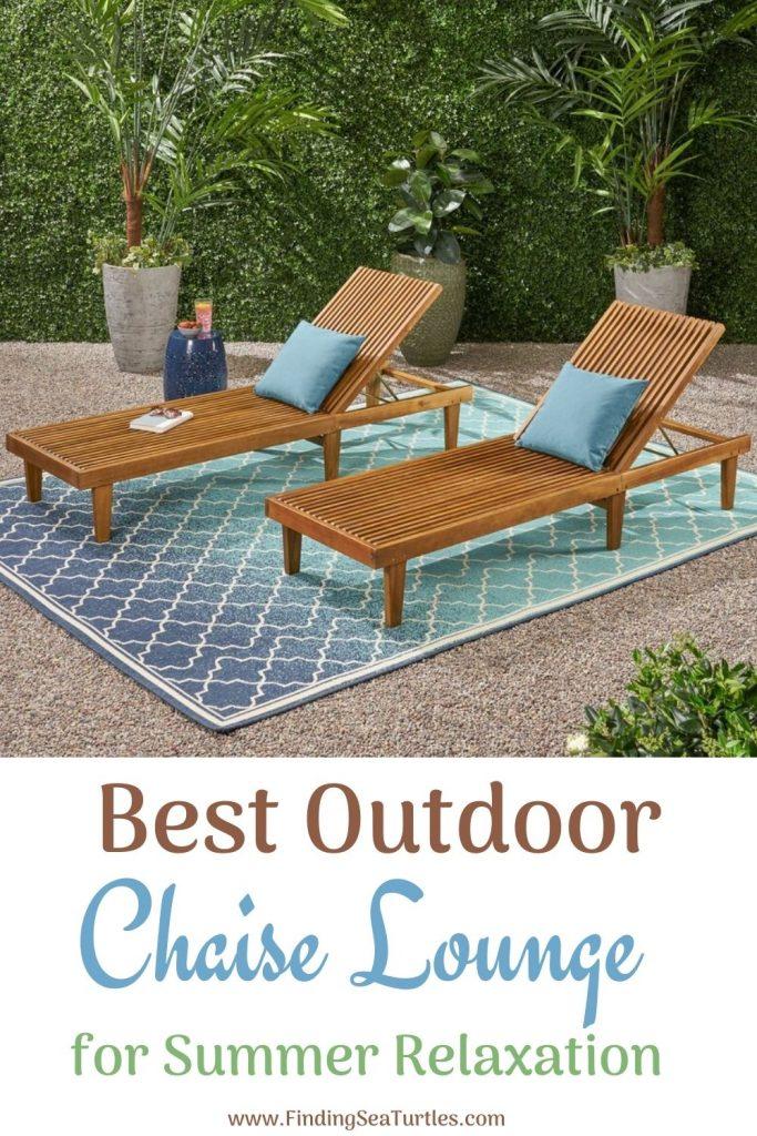 Best Outdoor Chaise Lounge for Summer Relaxation #ChaiseLounge #Pool #PoolSide #Patio #Summer #OutdoorSpaces #Backyard #PatioDecor #PatioFurniture #SummerHouse #CoastalHome #BeachHouse #LakeHouse #IslandHome #OutdoorLiving #BeachHouseStyle #BeachHouseDecor