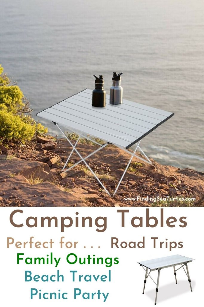 Camping Tables Perfect for Road Trips Family Outings Beach Travel Picnic Party #Picnic #PicnicCampingTable #PicnicattheLake #PicnicattheBeach #PicnicIdeas #SimplePleasures #FamilyPicnic #FamilyFun #Summer #BrunchattheBeach #BrunchIdeas #BeachBrunch #BrunchWithFriends