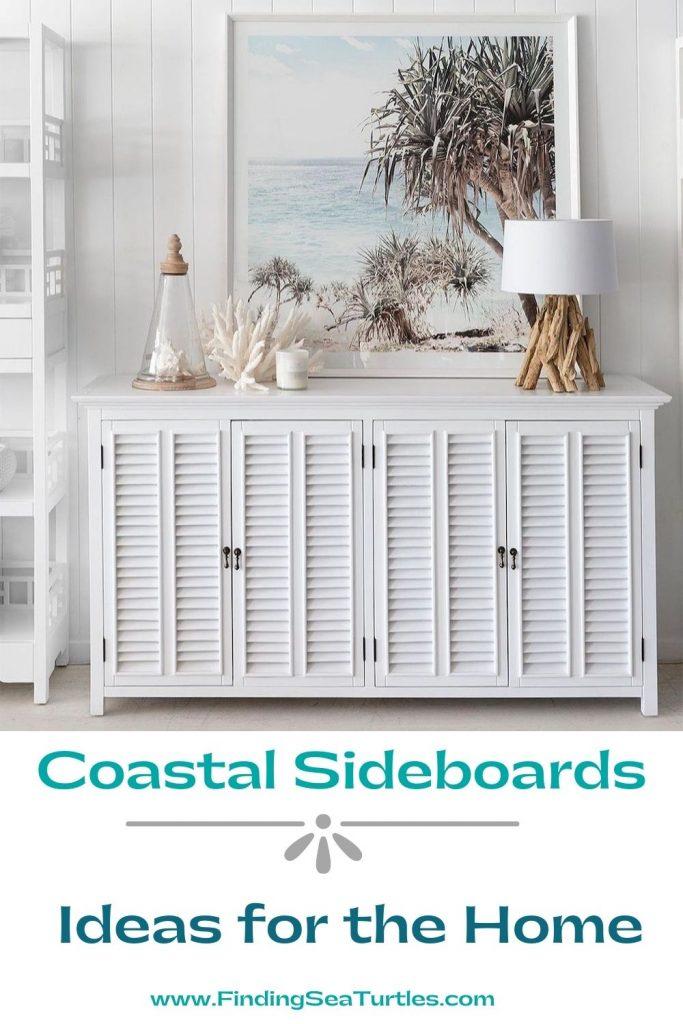 Coastal Sideboards Ideas for the Home #Coastal #DiningRoom #Sideboard #Buffet #CoastalSideboard #CoastalDiningRoom #CoastalDiningSets #CoastalDecor #CoastalHomeDecor #BeachHouse #SeasideStyle #LakeHouse #SummerHouse #DiningRoomAccessories