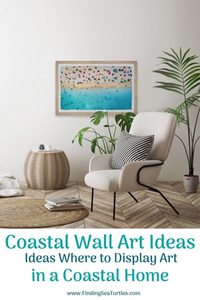 Coastal Wall Art Ideas Ideas Where to Display Art in a Coastal Home #Art #WallArt #WallArtIdeas #CoastalArt #CoastalWallArt #Entryway #HomeDecor #ConsoleTableDecor #LivingRoomArt #ArtFortheHome #HomeDecorTips #StylingTips