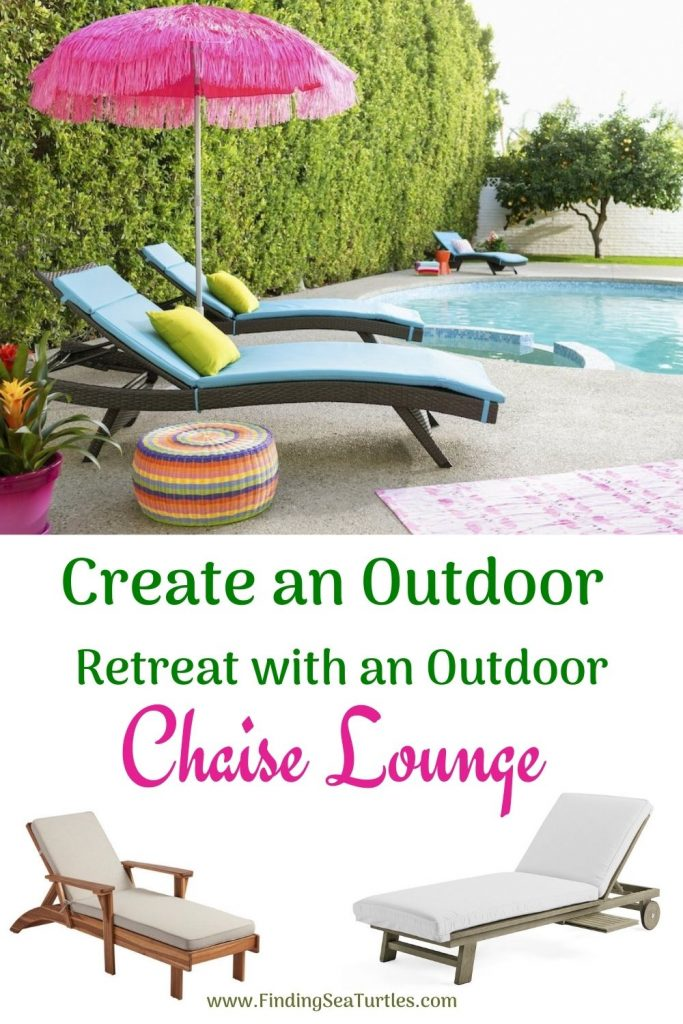 Create an Outdoor Retreat with an Outdoor Chaise Lounge #ChaiseLounge #Pool #PoolSide #Patio #Summer #OutdoorSpaces #Backyard #PatioDecor #PatioFurniture #SummerHouse #CoastalHome #BeachHouse #LakeHouse #IslandHome #OutdoorLiving #BeachHouseStyle #BeachHouseDecor