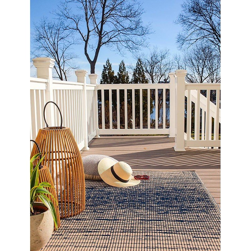 Coastal Outdoor Rugs Deck Floor Covering #OutdoorRugs #CoastalOutdoorRugs #Coastal #PatioRugs #HomeDecor #Entryway #BeachHouse #SummerHouse #LakeHouse #CoastalHome