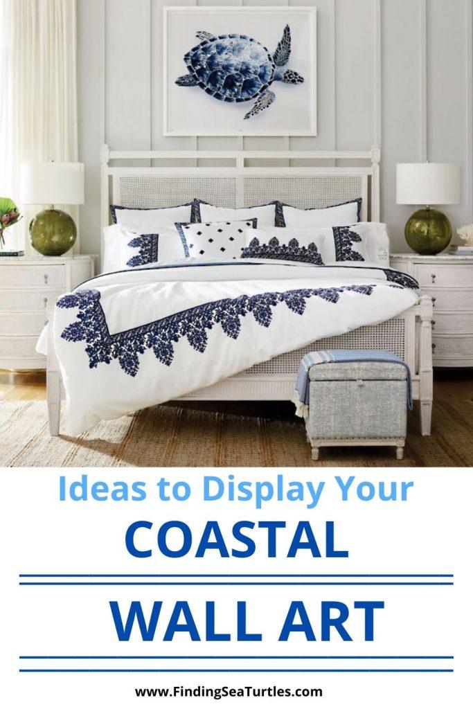 Ideas to Display Your Coastal Wall Art #Art #WallArt #WallArtIdeas #CoastalArt #CoastalWallArt #Entryway #HomeDecor #ConsoleTableDecor #LivingRoomArt #ArtFortheHome #HomeDecorTips #StylingTips