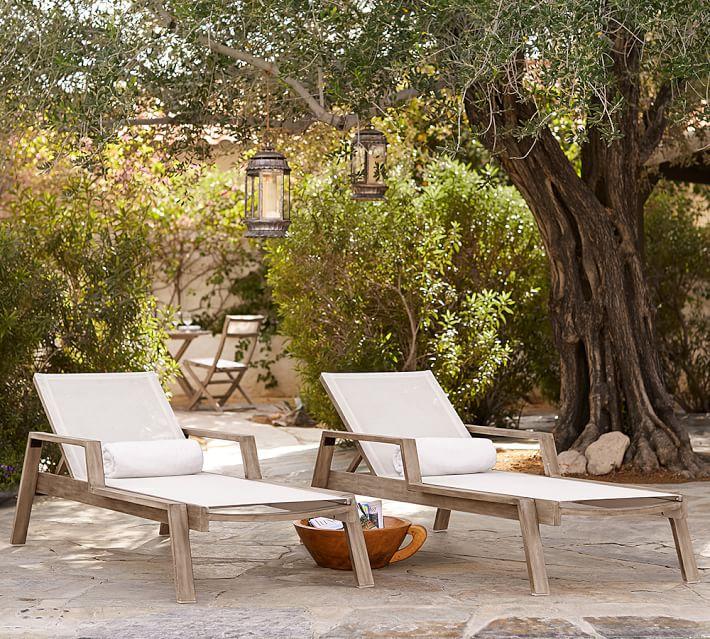 Indio Eucalyptus Mesh Stacking Chaise Lounge #ChaiseLounge #Pool #PoolSide #Patio #Summer #OutdoorSpaces #Backyard #PatioDecor #PatioFurniture #SummerHouse #CoastalHome #BeachHouse #LakeHouse #IslandHome #OutdoorLiving #BeachHouseStyle #BeachHouseDecor