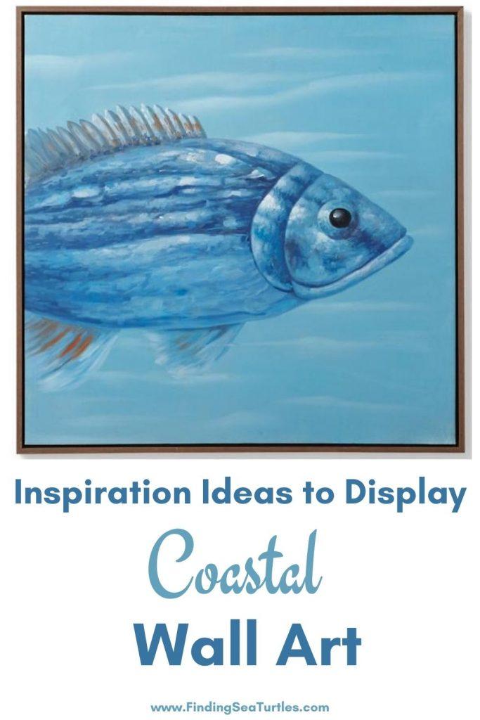 Inspiration Ideas to Display Coastal Wall Art #Art #WallArt #WallArtIdeas #CoastalArt #CoastalWallArt #Entryway #HomeDecor #ConsoleTableDecor #LivingRoomArt #ArtFortheHome #HomeDecorTips #StylingTips