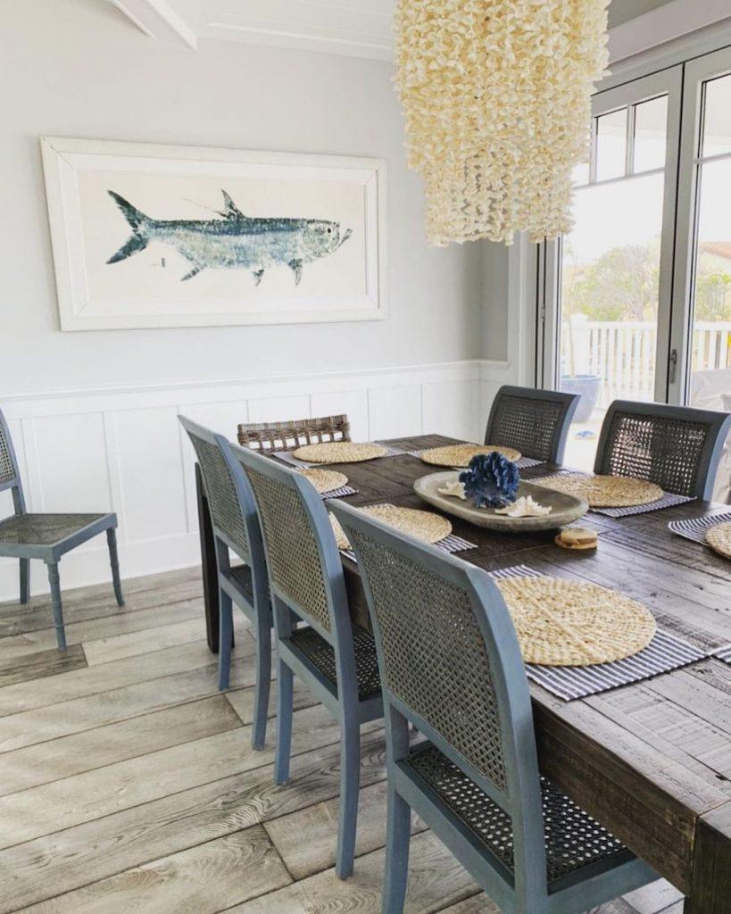 Inspo 4 #Coastal #DiningRoom #CoastalDiningRoom #CoastalDecor #CoastalHomeDecor #BeachHouse #SeasideStyle #LakeHouse #SummerHouse #DiningRoomAccessories