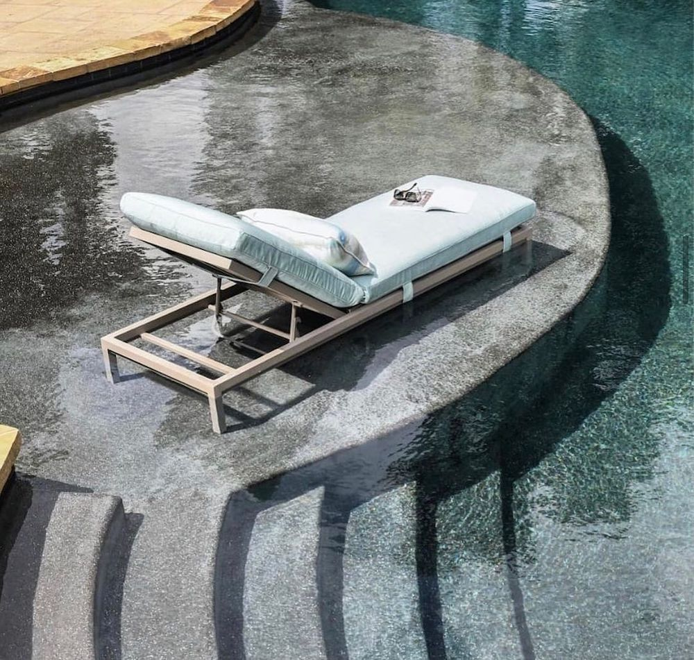 Inspo 5 #ChaiseLounge #Pool #PoolSide #Patio #Summer #OutdoorSpaces #Backyard #PatioDecor #PatioFurniture #SummerHouse #CoastalHome #BeachHouse #LakeHouse #IslandHome #OutdoorLiving #BeachHouseStyle #BeachHouseDecor