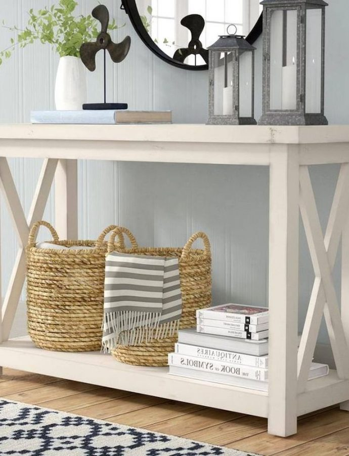 35 Coastal Console Tables with Seaside Style