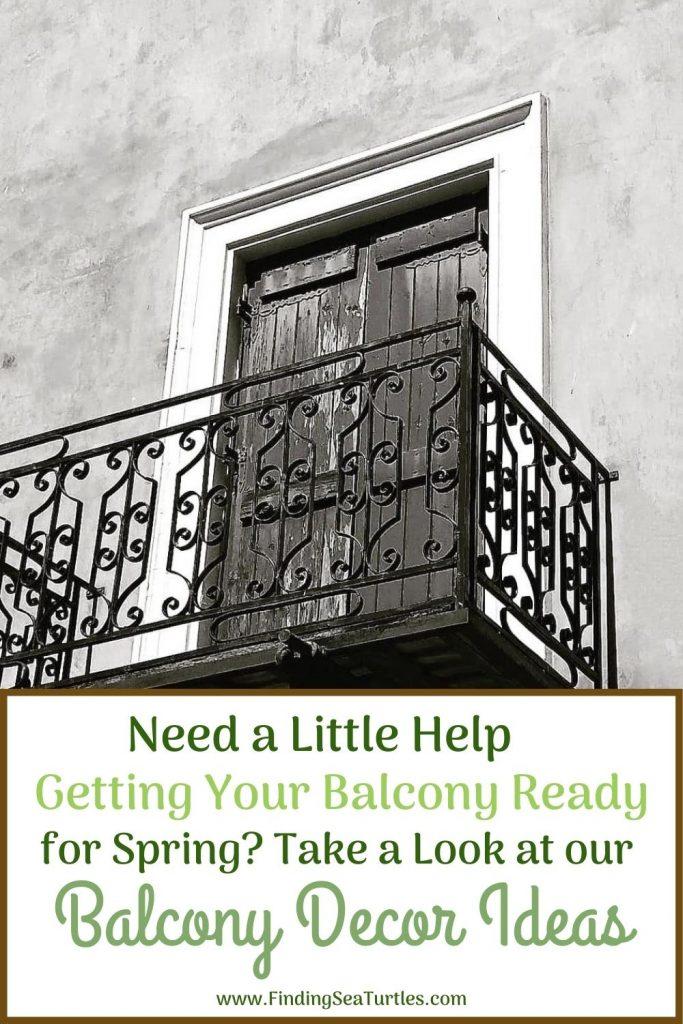 Need a Little Help Getting Your Balcony Ready for Spring #Balcony #BalconyDecor #BalconyDecorIdeas #CoastalBalcony #HomeDecor #AtHomeontheBalcony #HomeDecorTips #BalconyHome