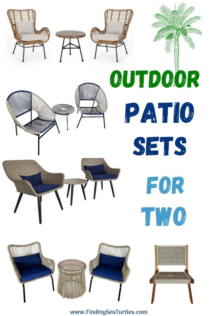 Outdoor Patio Sets for Two #Patio #PatioFurniture #PatioChairs #PatioConversatonSets #Summer #OutdoorSpaces #Backyard #PatioDecor #PatioFurniture #SummerHouse #CoastalHome #BeachHouse #LakeHouse #IslandHome #OutdoorLiving #BeachHouseStyle #BeachHouseDecor