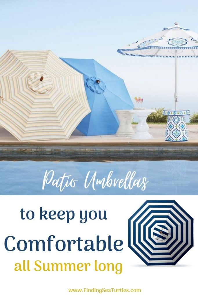 Patio Umbrellas to keep you Comfortable all Summer Long #PatioUmbrella #MarketUmbrella #Pool #PoolSide #Patio #Summer #OutdoorSpaces #Backyard #PatioDecor #PatioFurniture #SummerHouse #CoastalHome #BeachHouse #LakeHouse #IslandHome #OutdoorLiving #BeachHouseStyle #BeachHouseDecor