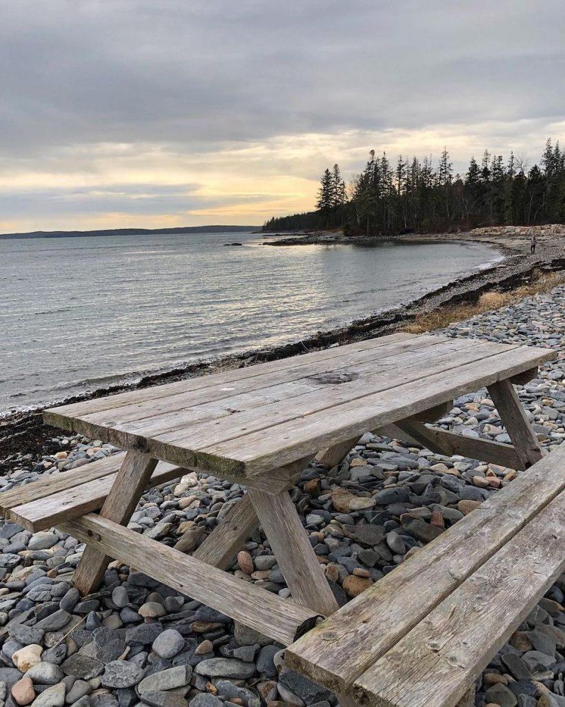 Picnic Table #Picnic #PicnicTables #Backyard #FamilyPicnic #FamilyFun #BackyardPicnicTable #BeachHouse #SummerHouse #LakeHouse #CoastalHome #Summer