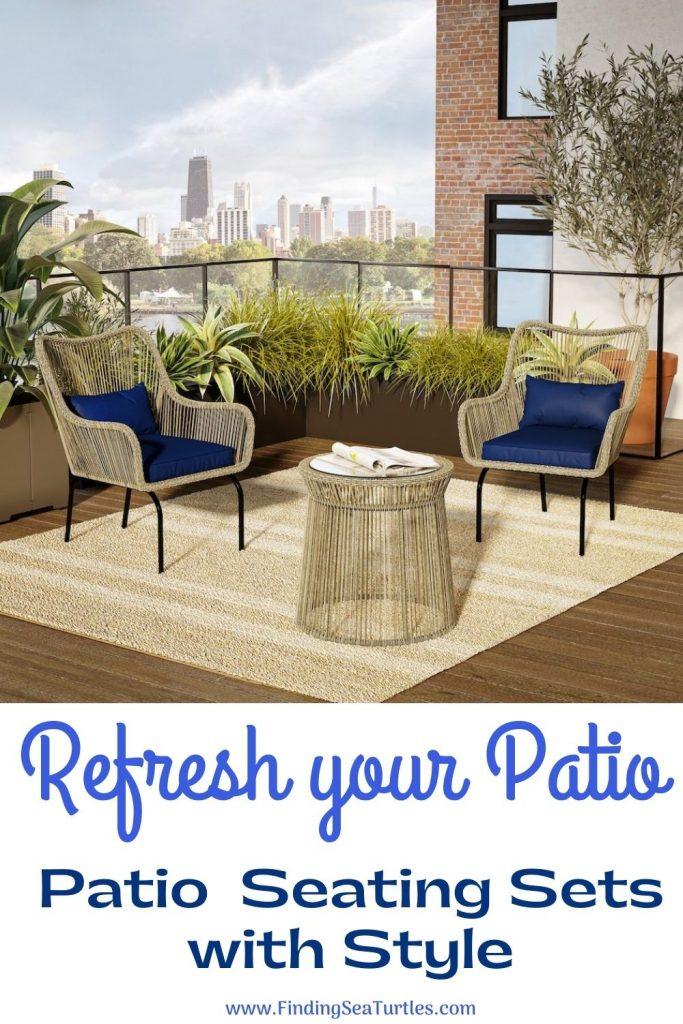 Refresh your Patio Patio Seating Sets with Style #Patio #PatioFurniture #PatioChairs #PatioConversatonSets #Summer #OutdoorSpaces #Backyard #PatioDecor #PatioFurniture #SummerHouse #CoastalHome #BeachHouse #LakeHouse #IslandHome #OutdoorLiving #BeachHouseStyle #BeachHouseDecor