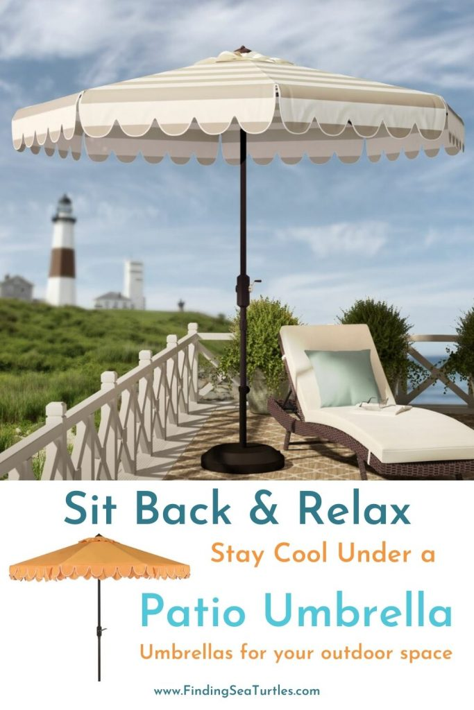 Sit Back Relax Stay Cool under a Patio Umbrella #PatioUmbrella #MarketUmbrella #Pool #PoolSide #Patio #Summer #OutdoorSpaces #Backyard #PatioDecor #PatioFurniture #SummerHouse #CoastalHome #BeachHouse #LakeHouse #IslandHome #OutdoorLiving #BeachHouseStyle #BeachHouseDecor