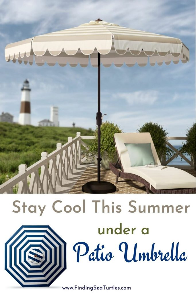 Stay Cool This Summer under a Patio Umbrella #PatioUmbrella #MarketUmbrella #Pool #PoolSide #Patio #Summer #OutdoorSpaces #Backyard #PatioDecor #PatioFurniture #SummerHouse #CoastalHome #BeachHouse #LakeHouse #IslandHome #OutdoorLiving #BeachHouseStyle #BeachHouseDecor